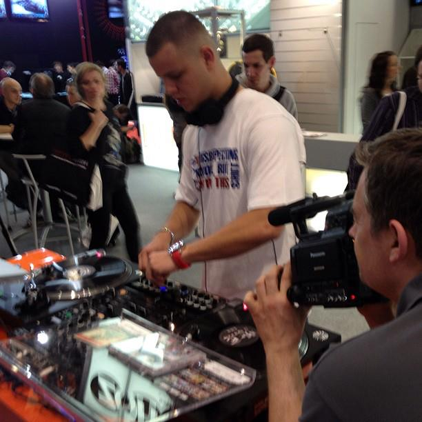 Mr. E at Musikmesse