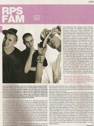 Mr. E and RPS Fam Interview at Juice Magazine
