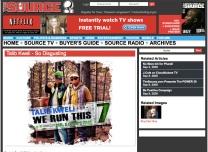 Mr. E and Talib Kweli at Source Magazine