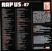 Mr. E Sampler for Rap Us Magazine Back
