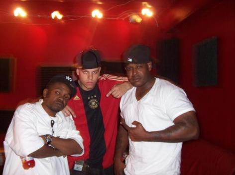 MrE and SheekLouch at D-Block Studios, Yonkers