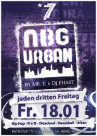 Mr. E at NBG Urban 18.01 Club / Bar *77, Nürnberg Germany