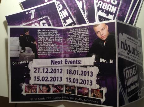 Mr. E at NBG Urban Flyer Magazine, DJ, Nürnberg at Club / Bar *77