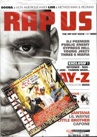 RapUs Magazine with Mr. E Sampler
