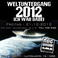 """""""Weltuntergang 2012"""" Party with Mr. E, Club / Bar *77, Nürnberg Germany"""