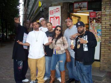 With Project GNSS, Yung C, T-No in Hamburg